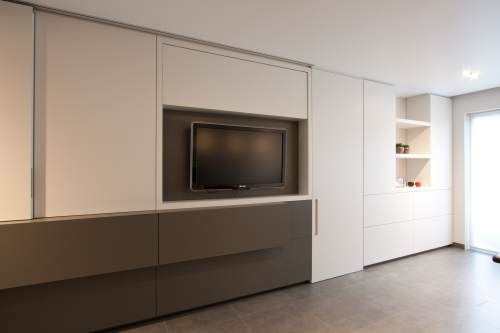Realisaties alluur - Moderne tv wand ...